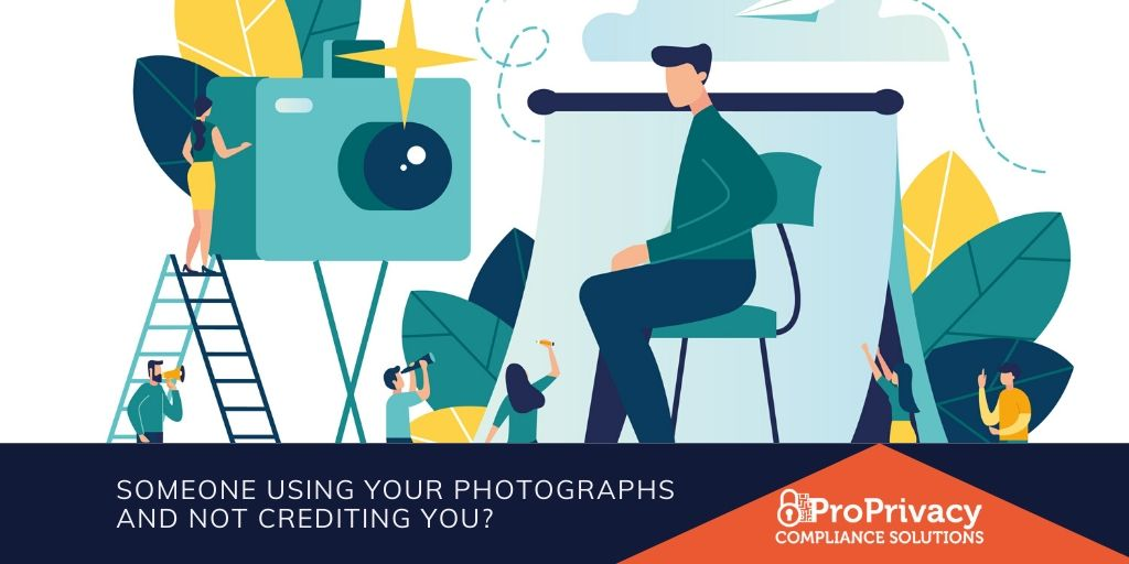 Someone using your photographs and not crediting you?