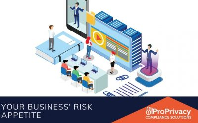 Your Business' Risk Appetite.