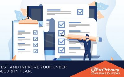 Test and improve your cyber security plan.