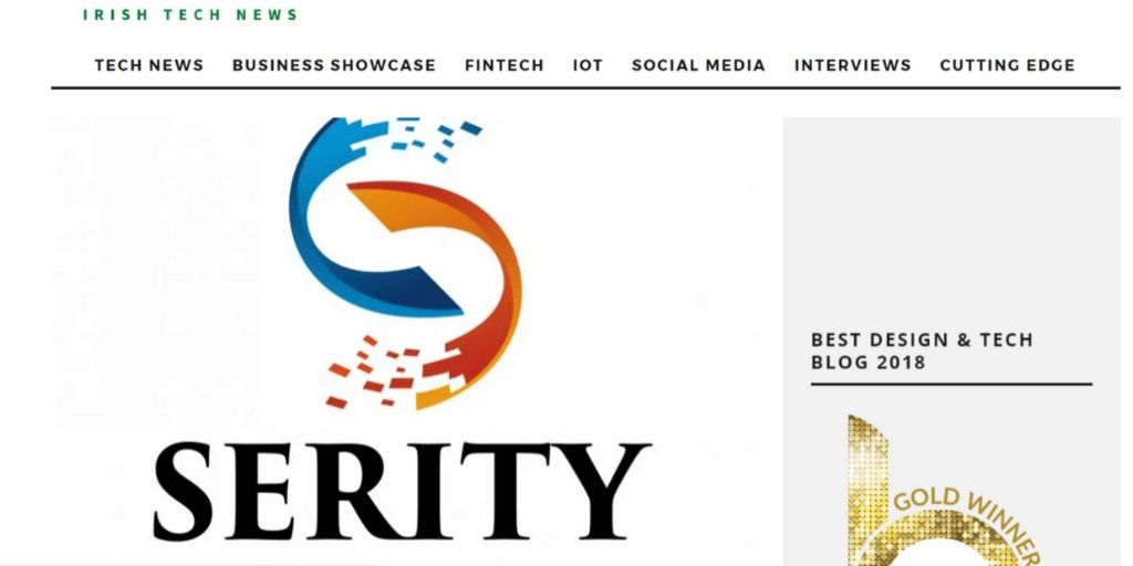 Serity Featured in Irish Tech News