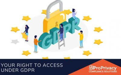 Your Right To Access Under GDPR