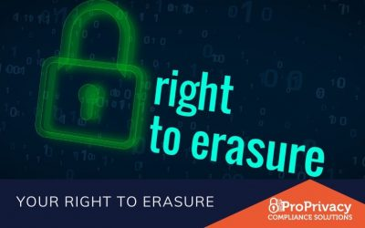 Your Right to Erasure
