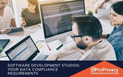 Software Development Studios & Data Compliance