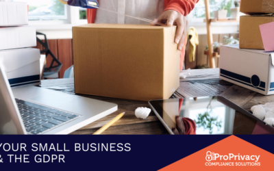 Your Small Business & The GDPR